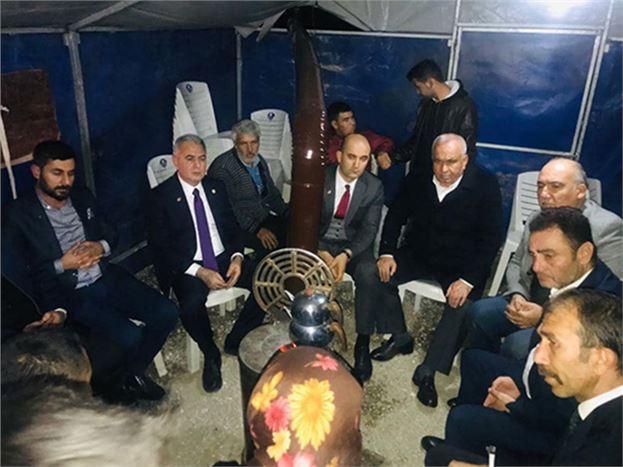 Şimşek, Tarsuslu Çiftçilere 'Geçmiş Olsun' Ziyareti Gerçekleştirdi