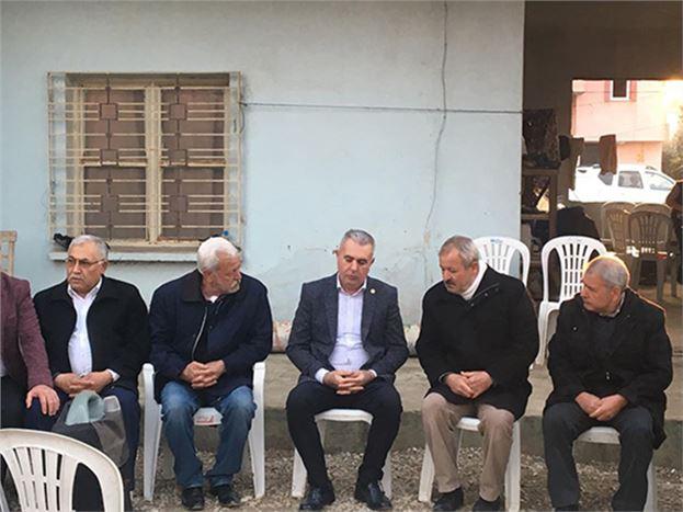 MHP Vekil Baki Şimşek, Bekçi Özer'in, Ailesine Taziye Ziyaretinde Bulundu