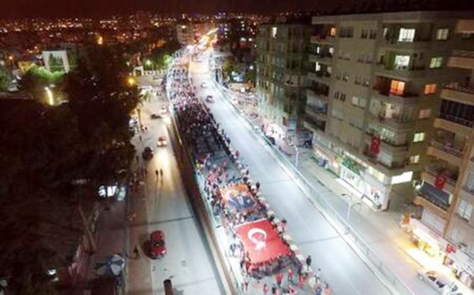 Tarsus'ta Gösteri Yürüyüşleri Yer ve Güzergahları Açıklandı