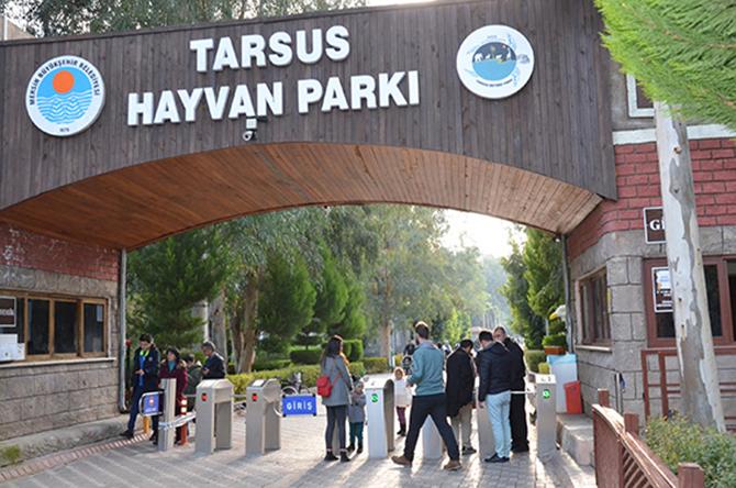 Tarsus Hayvan Parkı'nı Hafta Sonunda 5 Bin 500 Kişi Gezdi