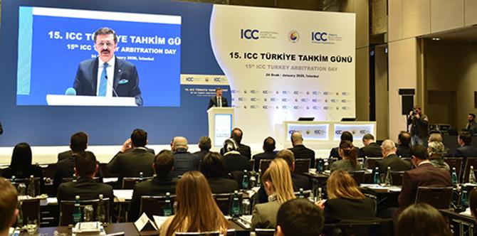 Koçak, 15. ICC Türkiye Tahkim Gününe katıldı