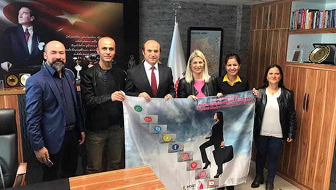 İnovatif ve Girişimci Toplum Derneği Ekibi Metin'i, Ziyaret Etti