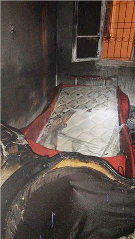 Tarsus'ta Çıkan Yangında Bir Kişi Hayatını Kaybetti