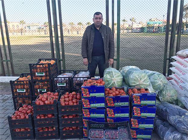 Ziraat Odası, Deprem Bölgesine Sebze Meyve Gönderdi