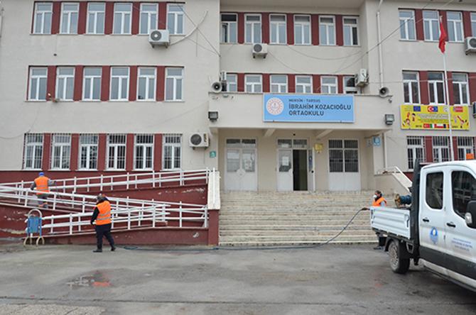 Büyükşehir, Tarsus'taki Okulları İkinci Döneme Hazırladı
