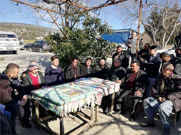 CHP'liler, 9 Mahalleyi Ziyaret Etti