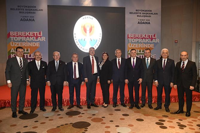 11 Büyükşehir Belediye Başkanı Çalıştayda Buluştu