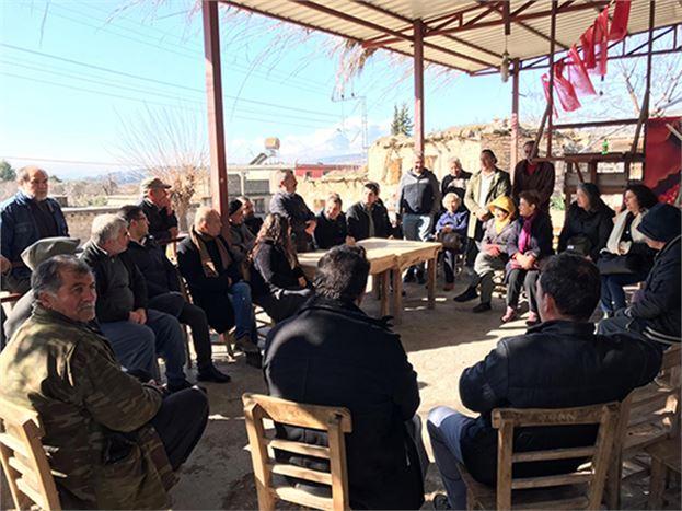 CHP İlçe Başkanı Varal, Mahalle Ziyaretlerine Devam Ediyor