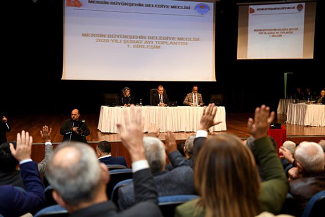 Mersin Büyükşehir Belediye Meclisi Şubat Ayı Toplantısı Yapıldı