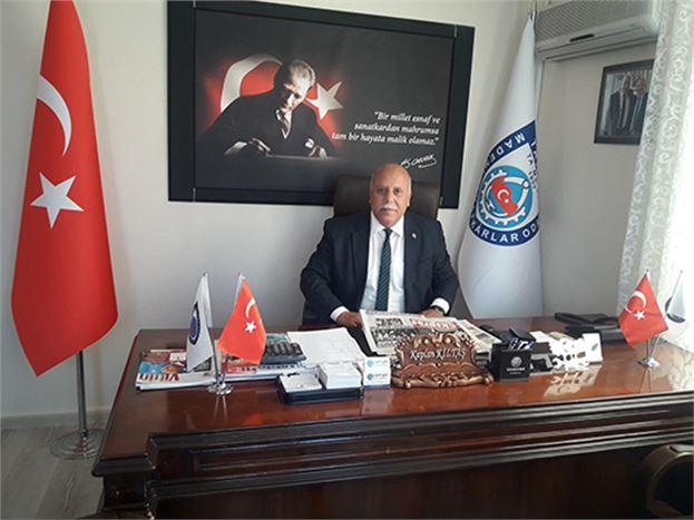 """Başkan Kaplan Kiltaş, """"Zincir Marketlerde Araba Lastiği ve Yağı Satılamaz"""""""
