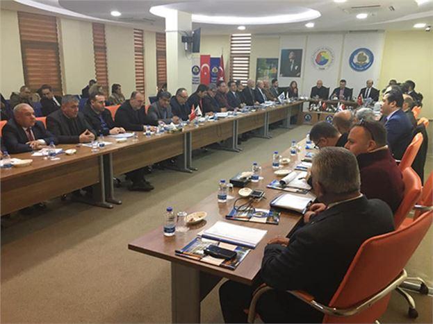 'Büyük İlçeler Güven ve Dönüşüm Projesi' Toplantısı Yapıldı