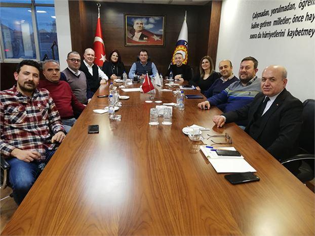 Tarsus TSO'da Komite Toplantısı  Yapıldı
