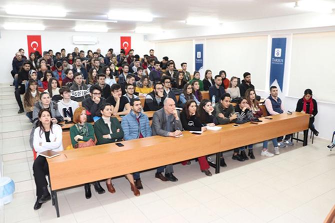 TÜ'de Erasmus Programı Bilgilendirme Toplantısı Yapıldı
