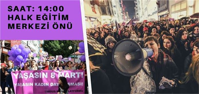 Tarsus Kadın Platformu, 8 Mart Kadınlar Gününe Hazır