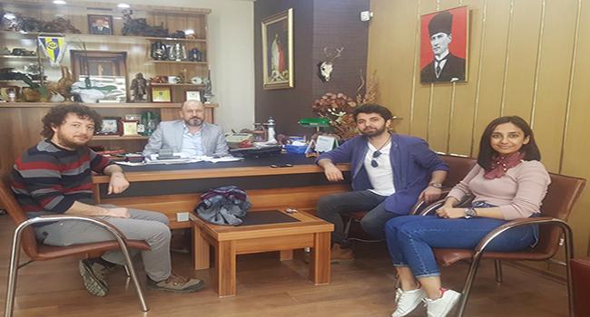 Tarsus Şehir Tiyatrosu Oyuncuları, Gazetemizi Ziyaret Etti
