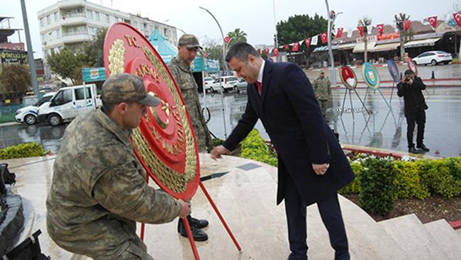 Atatürk'ün, Tarsus'a Gelişinin 97.Yılı Kutlandı