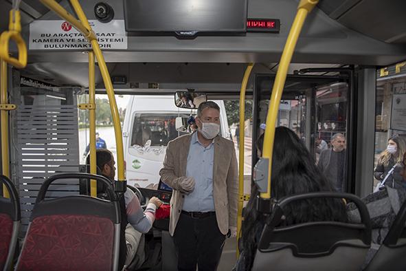 Dolmuşlar ve Halk Otobüsleri Artık Kapasitesinin Yarısı Kadar Yolcu Alacak