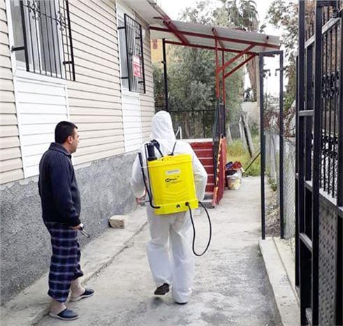 Yenice'de Dezenfekten ve İlaçlama Çalışması