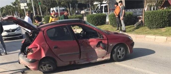 Tarsus'ta Kaza 2 Yaralı