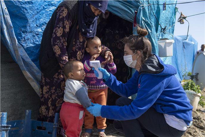 Mersin'de korona virüs sürecinde 8 bin 665 kişiye ulaşıldı