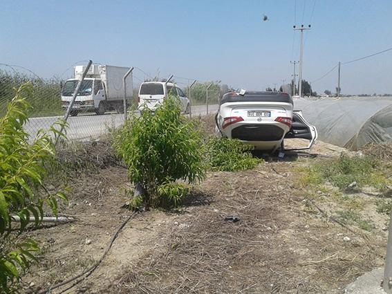 Tarsus'ta 2 Ayrı Kaza 1 Ölü, 1 Yaralı