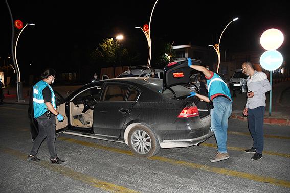 Tarsus'ta 567 Polisle Her Noktada Uygulama