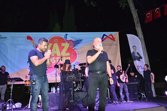 Haluk Şaş Tarsus'ta Sahne Aldı