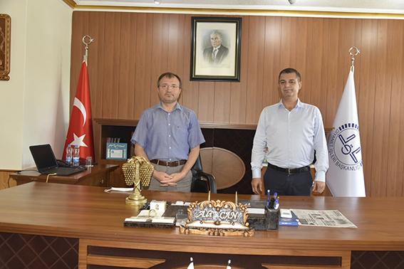 Başkan Varal Müftü Can'ı Ziyaret Etti