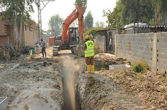 35 Yıldır Bekleyen Kanalizasyon Sisitemi İçin Çalışmalar Devam Ediyor