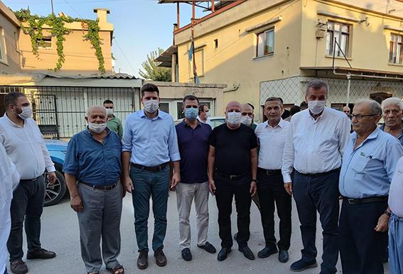 Tarsus CHP'den Atalar Mahallesine Ziyaret