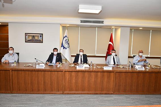 Tarsus OSB'de Yol Yapım İhalesi