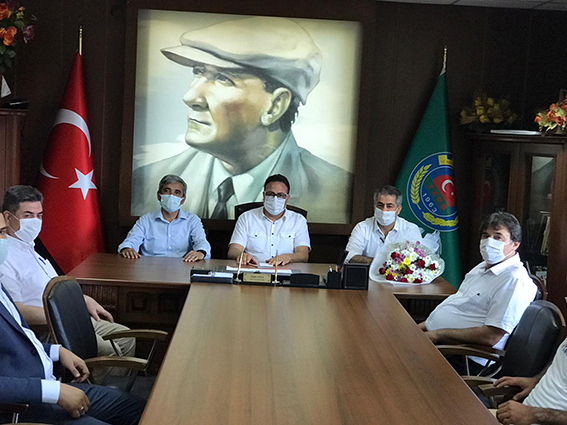 Ziraat Odasına AK Parti'den Ziyaret