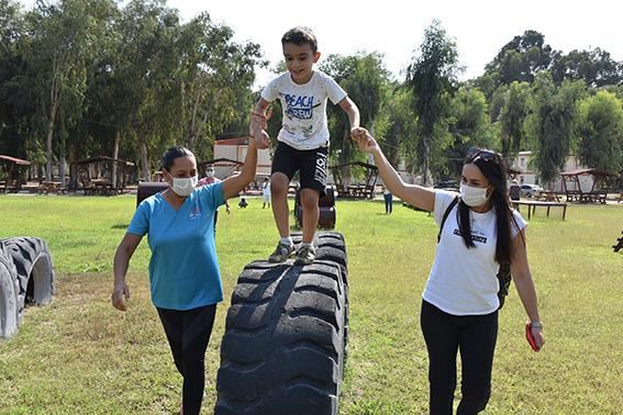 Büyükşehir, Özel Gereksinimli  Çocukları Gençlik Parkında Ağırladı