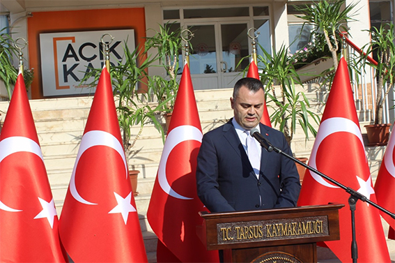 Tarsus'ta Cumhuriyet Bayramı Kutlandı