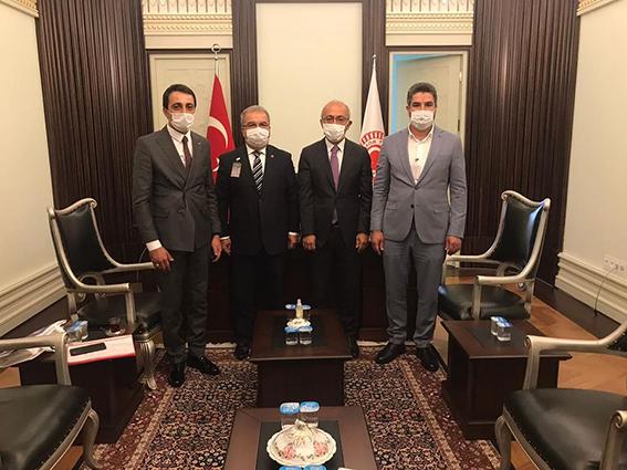 Çamlıyayla MHP İlçe Başkanı Genç'ten  Elvan ve Vekillere Ziyaret