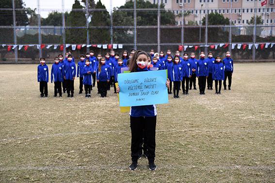"""Çocuklardan Ortak Mesaj """"Hayır Deme Hakkımız Var, Haklarımıza Dokunma!"""""""