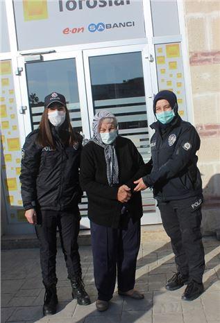 Polis, Yaşlı Kadını Karanlıktan Kurtardı