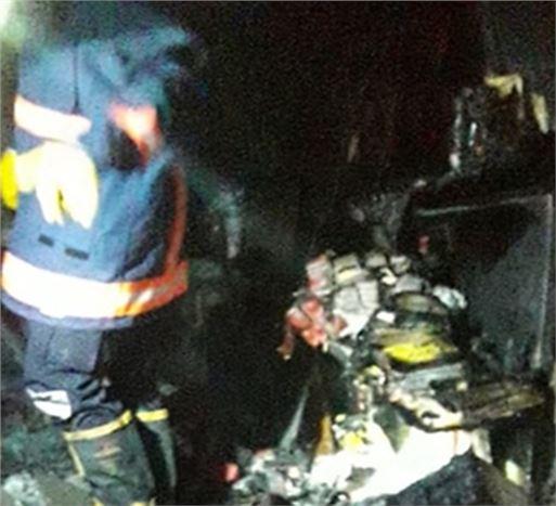 Tarsus'ta Market Yangını