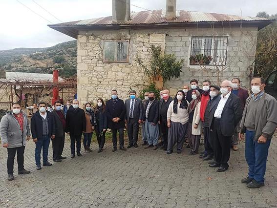 Varal, Tarsus'ta Doludan Zarar Gören Bölgede İnceleme Yaptı