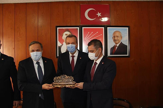CHP Genel Yardımcısı Seyit  Torun'dan Tarsus İlçe Örgütüne Ziyaret