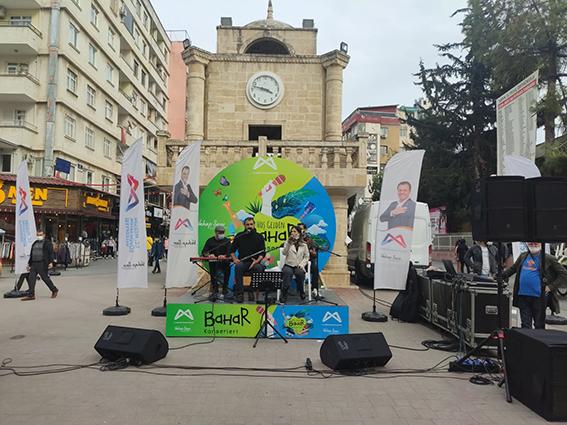 """Tarsus'ta """"Hoşgeldin Bahar"""" Konserleri Verildi"""