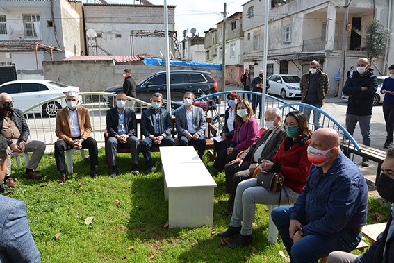 Mersin Büyükşehir Bürokratları Tarsus'ta Esnafı Ziyaret Etti