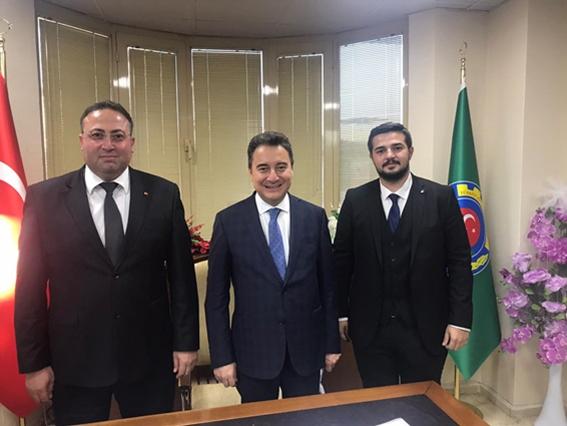 Ali Babacan, Tarsus Ziraat Odası'nı Ziyaret Etti