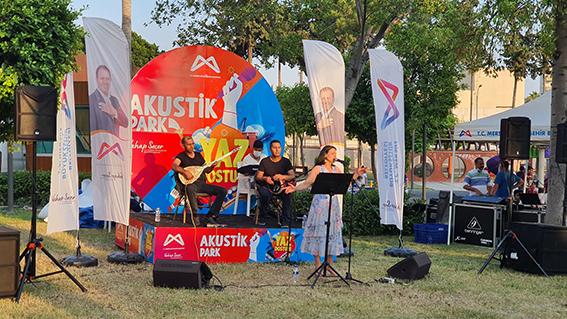 """""""Yaz Dostum"""" Konserleri  Tarsus'ta Tüm Hızıyla Sürüyor"""