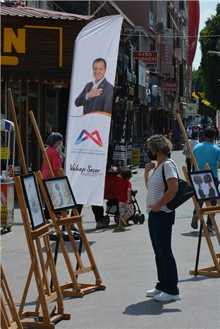Tarsus'ta Çevre  Karikatürleri Sergisi