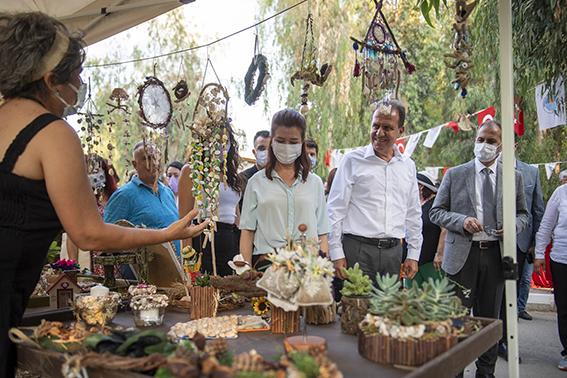 Tarsus'ta Geri dönüşümden elde edilen ürünler sergilendi