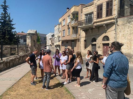 Misafir Öğrencileri Tarsus'u Gezdi