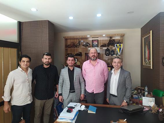 Tarsus Ülkü Ocakları Başkanı Ahmet  Bebek'ten Gazetemize Ziyaret