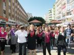 Kadınlardan Danslı Tepki Video İzle