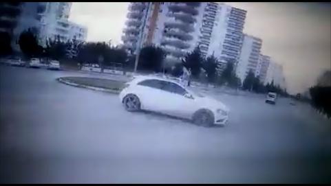 Mersin'de Kaza Anı Böyle Kayda Geçti
